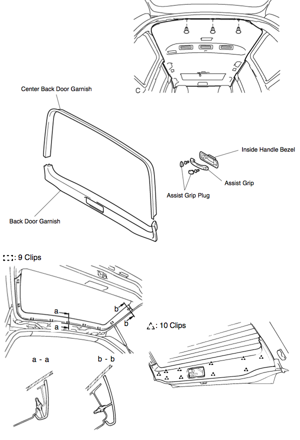 honda passport rear window parts